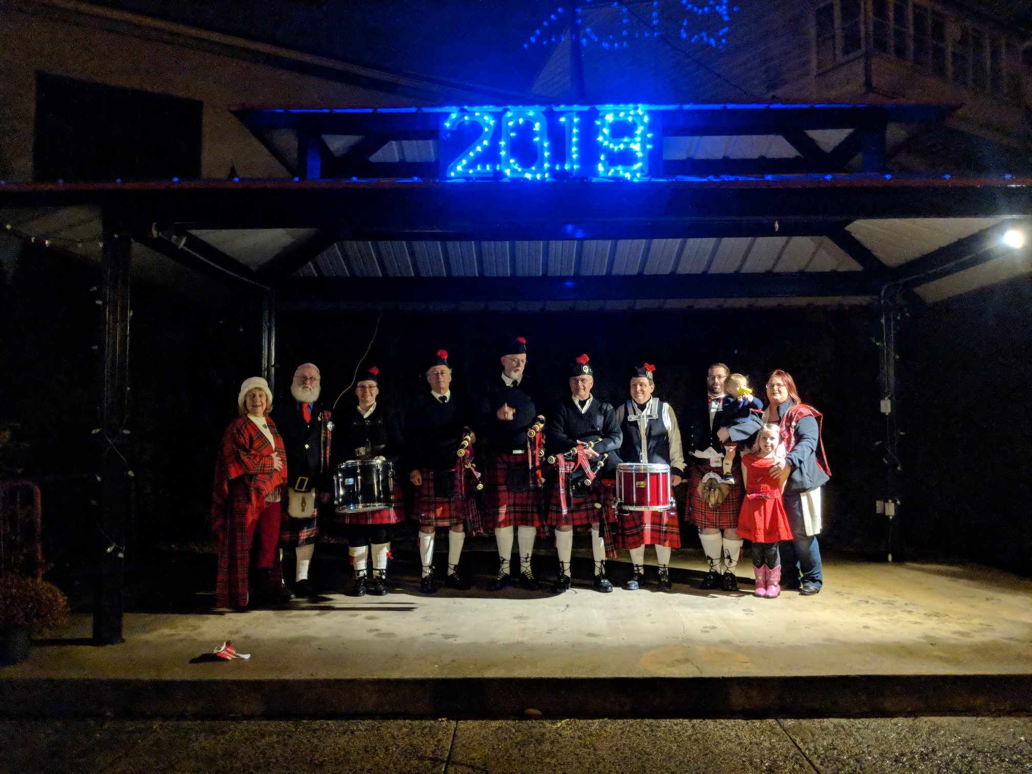 BARC Proudly Presents the 19th Annual Scottish First Footing