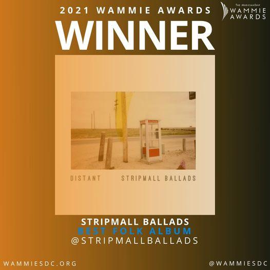 Stripmall Ballads Earns a Wammie!