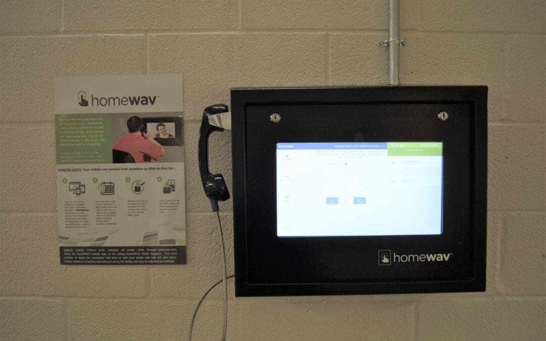 Frederick County Adult Detention Center Offers Video Visitations