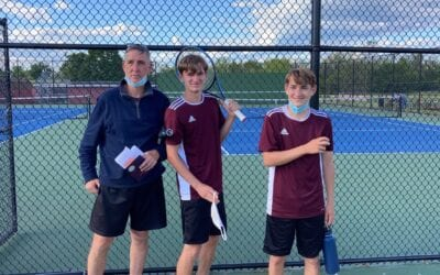 Brunswick High School Tennis Victory