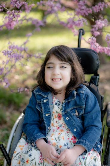 Elliana was three-years-old when the Graves family adopted her from Armenia. (Photo by Amanda Kate Photography, used with permission)