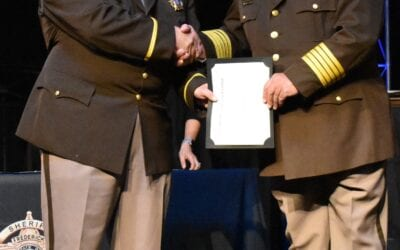 Correctional Officer Joins Command Ranks