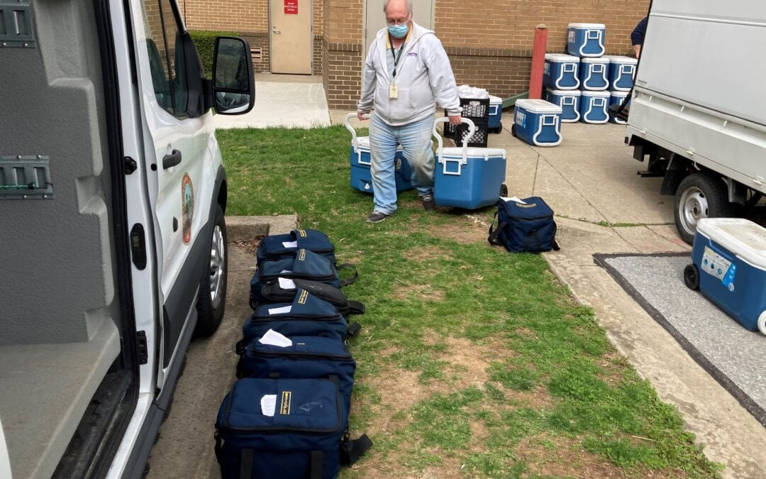 Providing Nearly 300 Meals Daily to County Residents