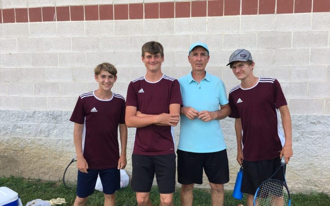 BHS Freshman, Ben Kennedy, to Compete in County Tennis Finals