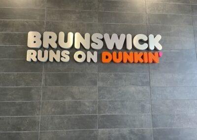 Brunswick Runs on Dunkin'