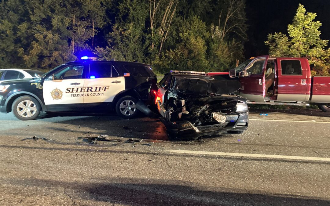 Two FCSO Deputies Injured in Overnight Traffic Incident